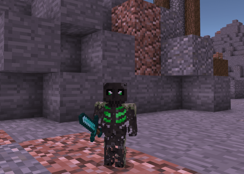 Minecraft Spooky Skeleton Skin