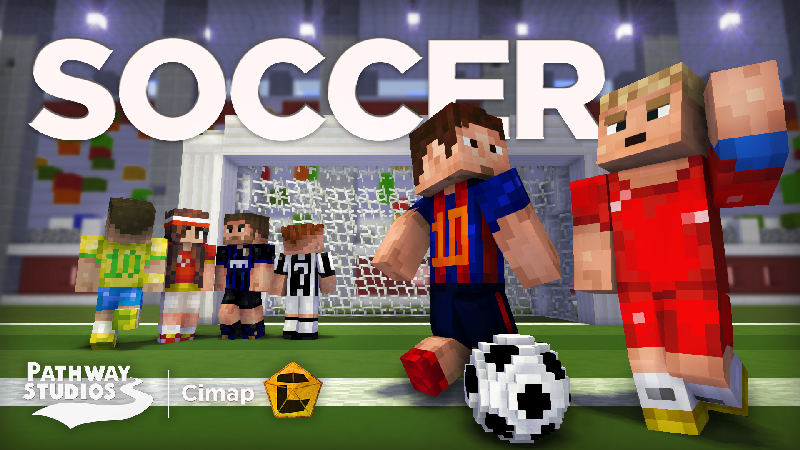 Soccer in Minecraft