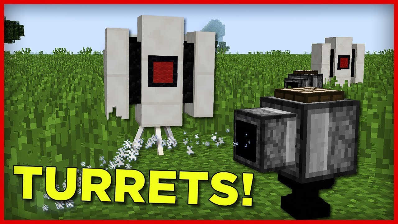 Minecraft Turrets and Tnt Cannon