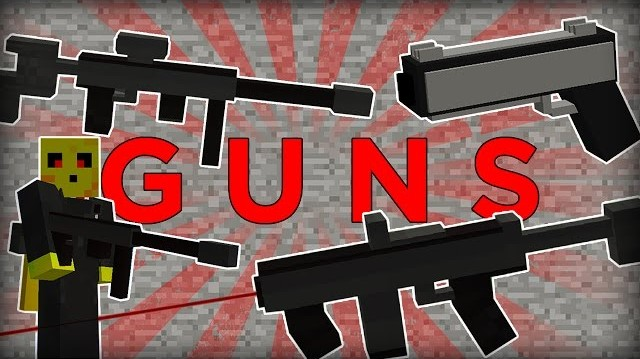 Guns in Minecraft Mod
