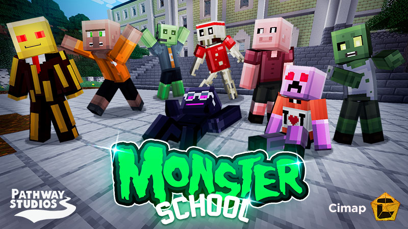 Monster School Skins