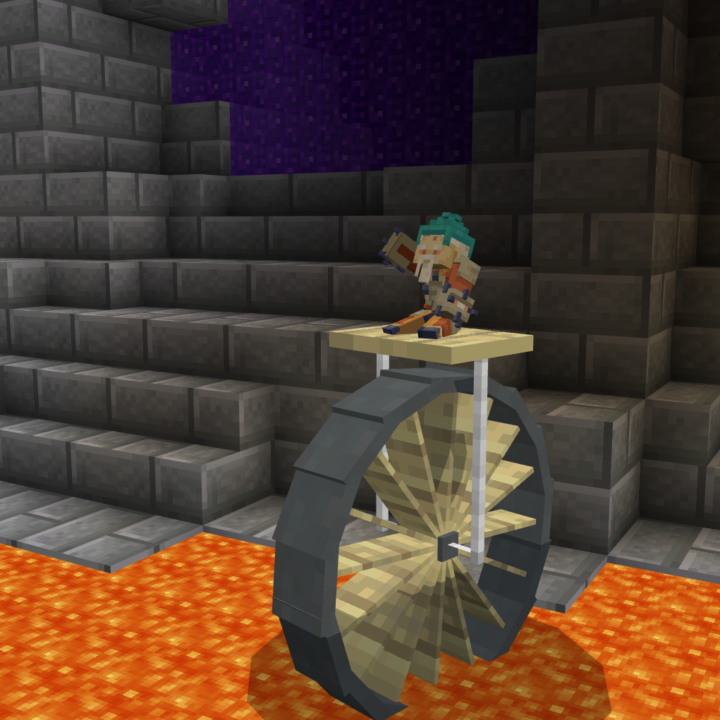 lava wheel from Ant sized adventure