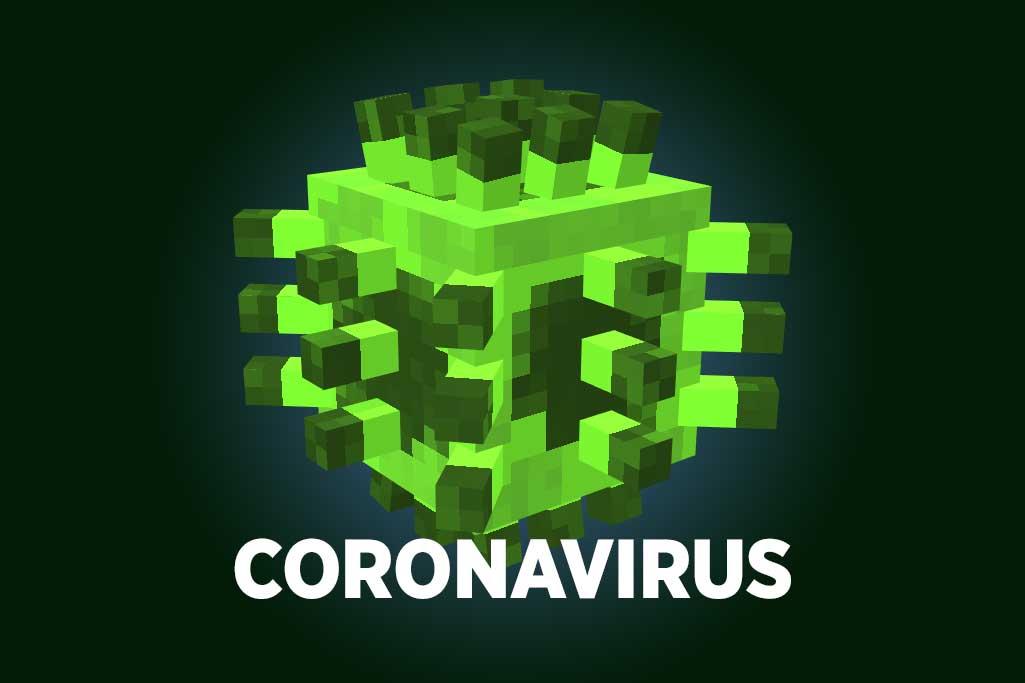 Coronavirus in Minecraft