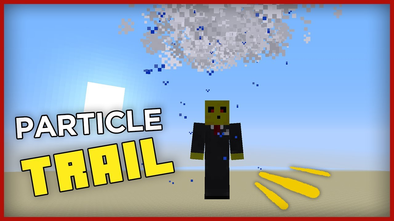 minecraft particle trails command