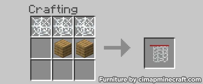 basketball hoop minecraft furniture crafting
