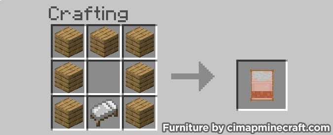 canopybed minecraft furniture crafting