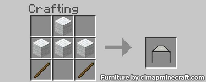 gazebo minecraft furniture crafting
