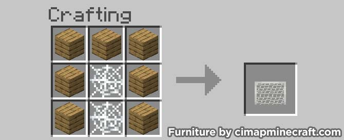 soccer goal minecraft furniture crafting