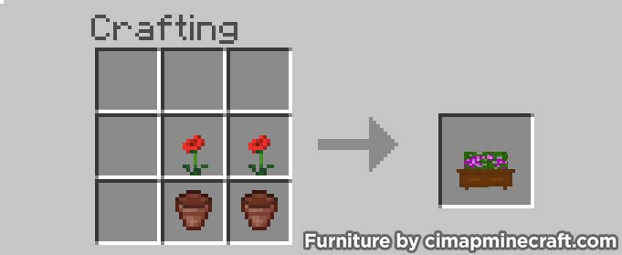 hanging vase minecraft furniture crafting