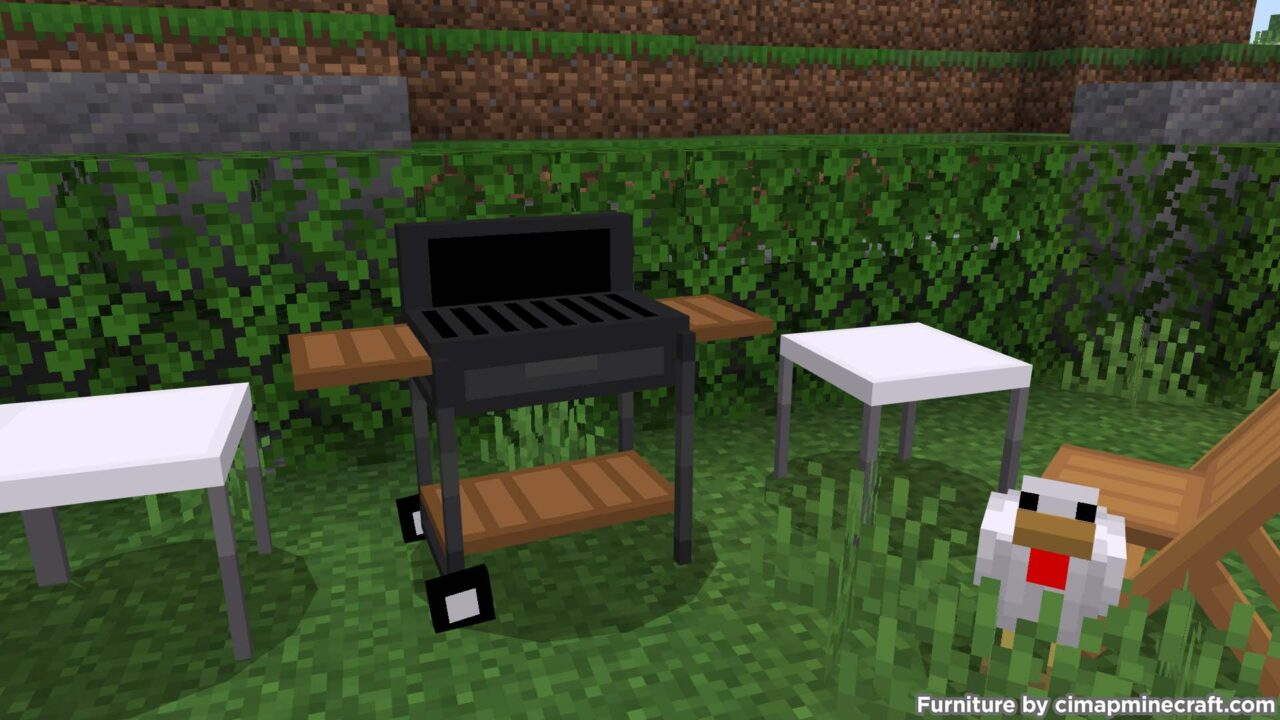 Barbecue Minecraft Furniture
