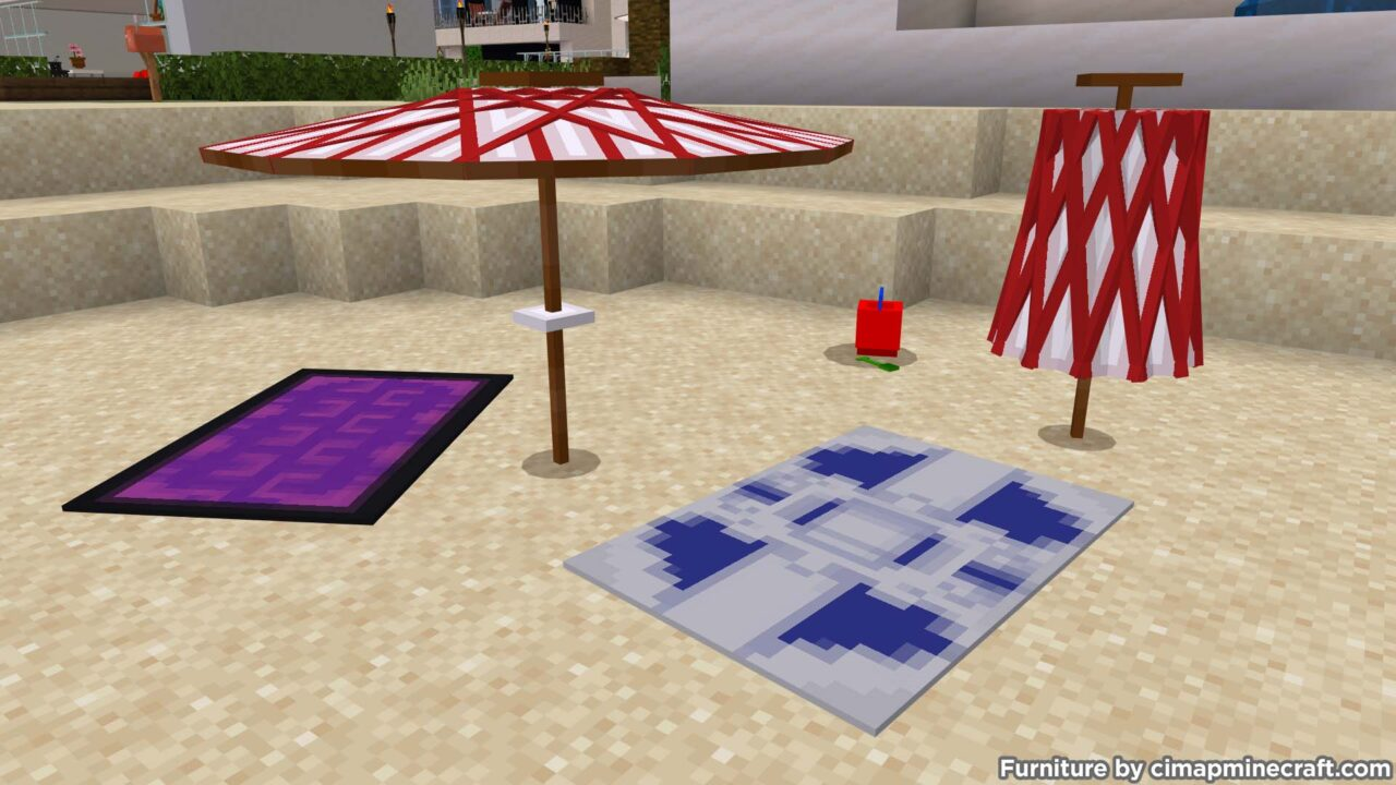 Beach Towels Minecraft Furniture