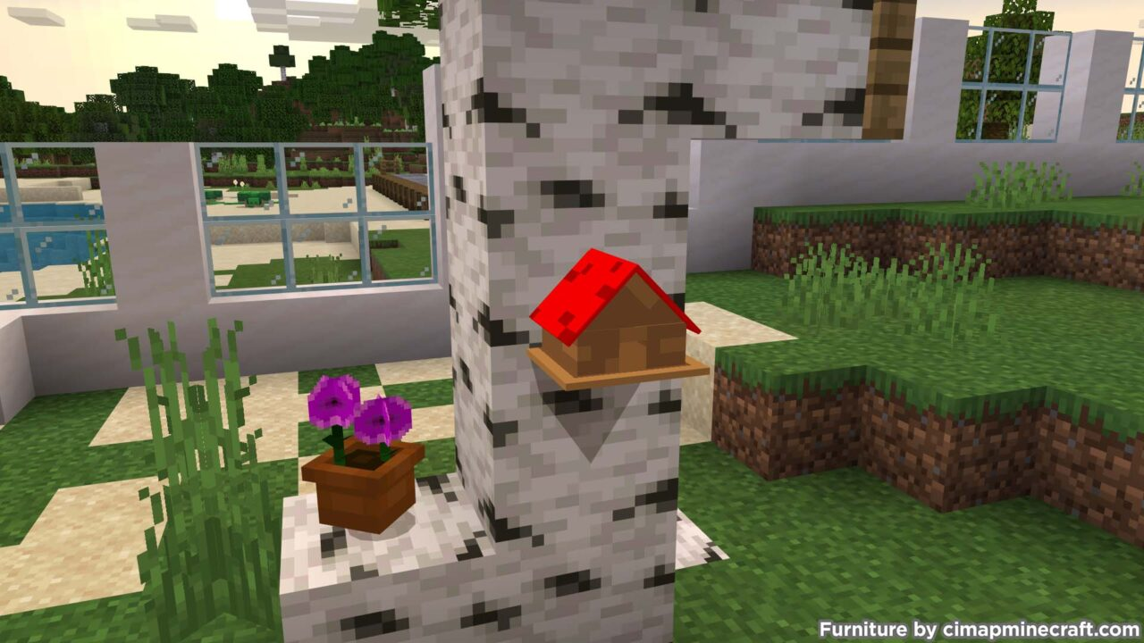 Bird House Minecraft Furniture