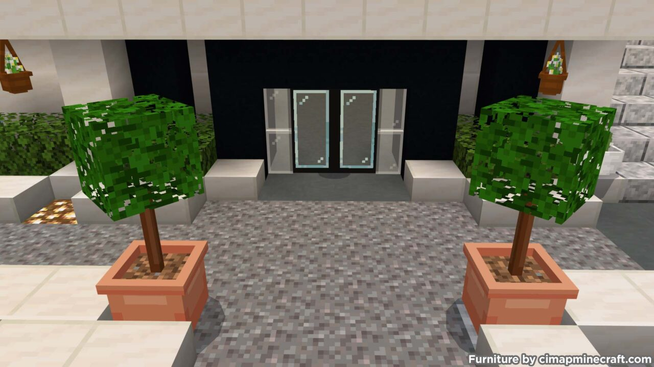 Entrance Minecraft Furniture
