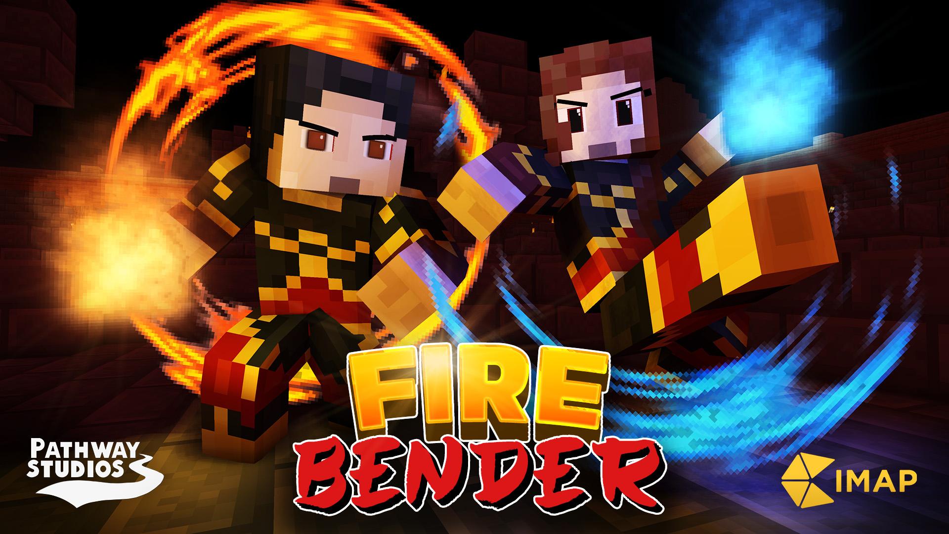 Firebending in Minecraft