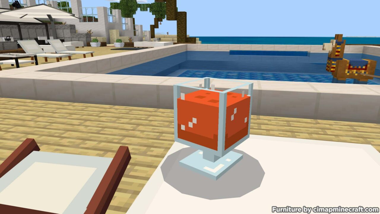 Juice Glass Minecraft Furniture