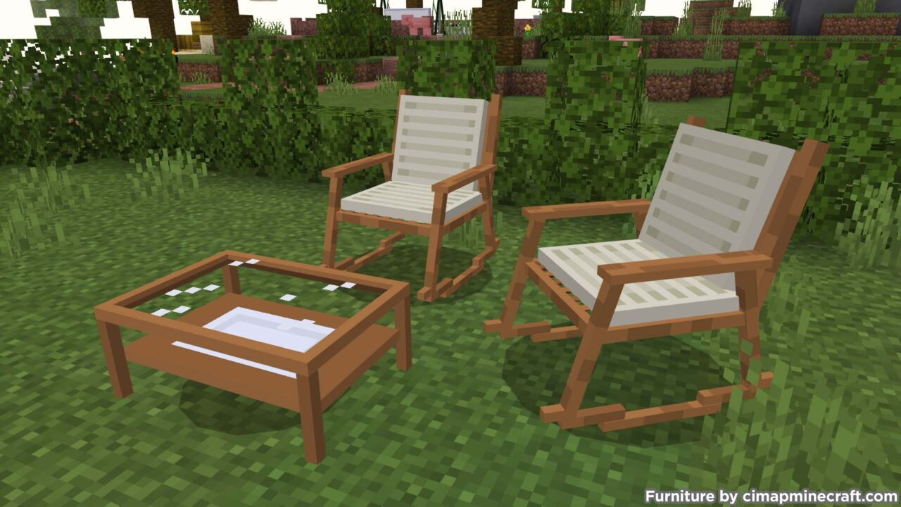 Rocking Chair Minecraft Furniture